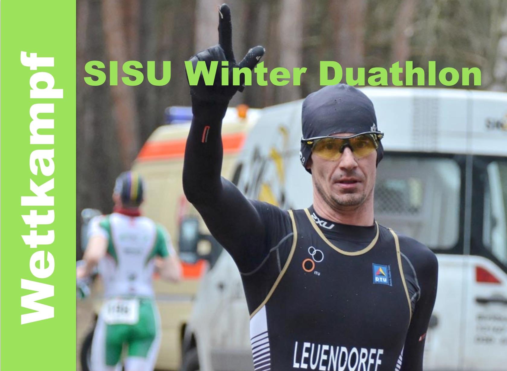 Podium beim SISU Winterduathlon