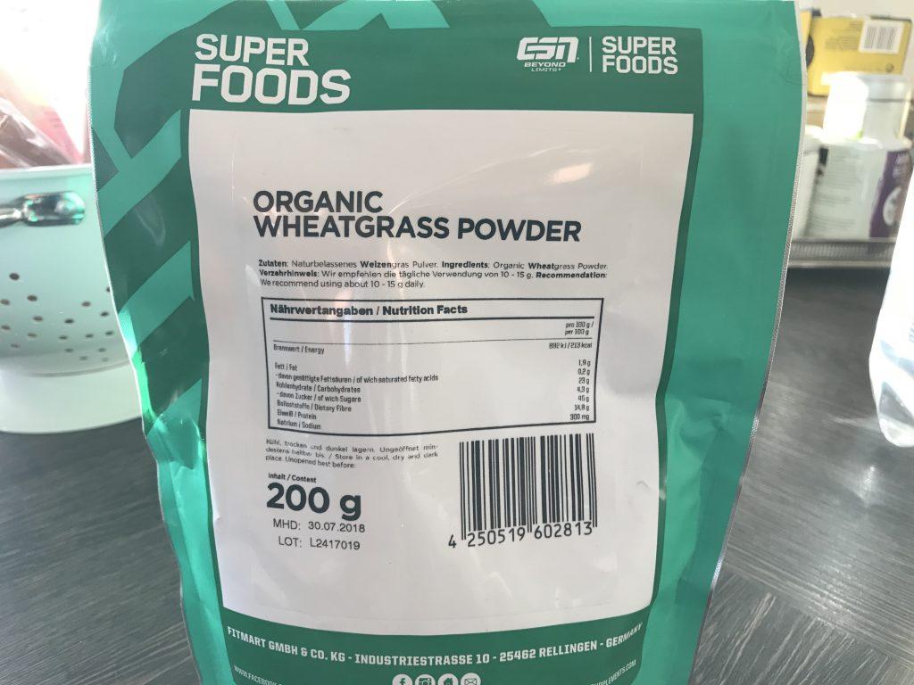 Weizengrasspulver von ESN