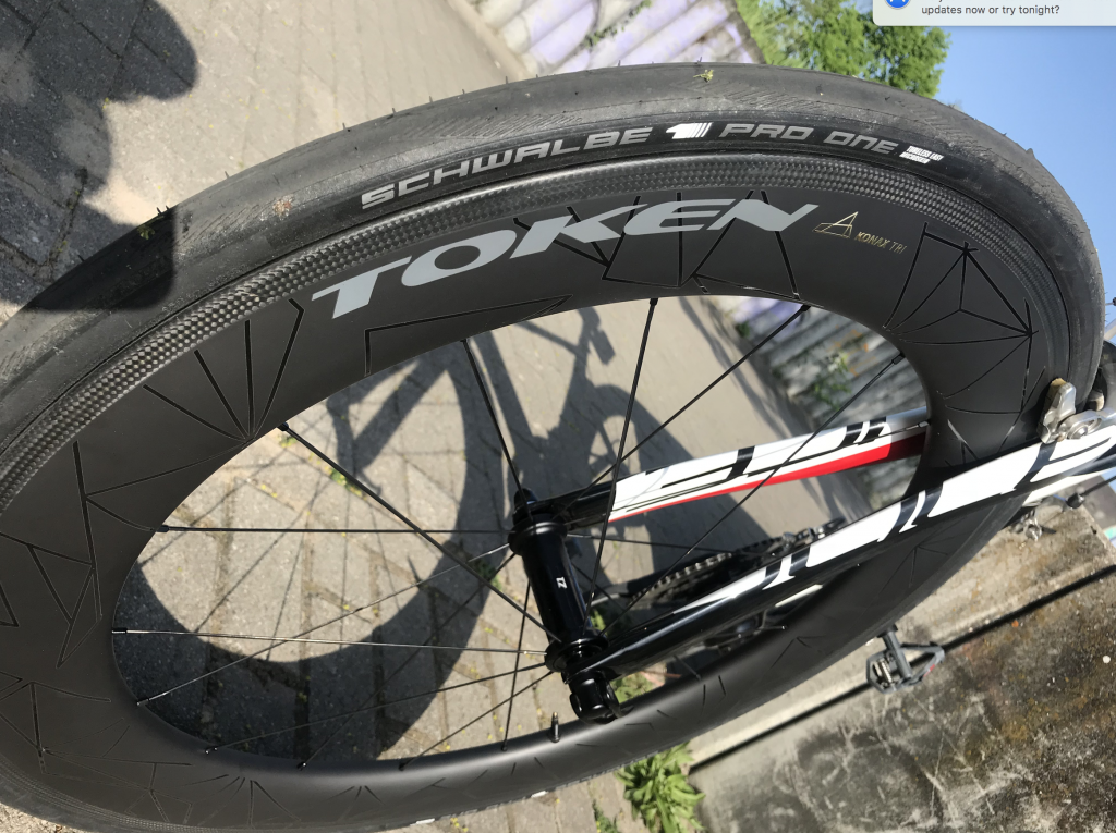 Token KONA TRI 76mm Carbon Clincher